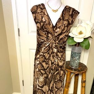 Chico's Maxi Print Dress